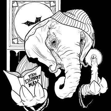The Elephant Man by ArtbyAaronDodd