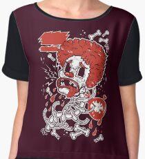 Dead Clown Women's Chiffon Top