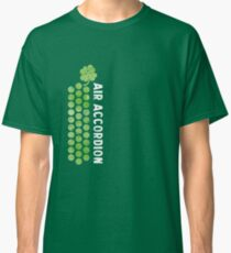 Air Cool Accordion Design. for ST Patrick's Day 2017 Saint patricks day Drunk Drinking tee shirts, Retro Music Classical Instrument Distressed Graphic Classic T-Shirt