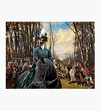 Jack Russell Terrier Art Canvas Print - The Noble Hunt Party Photographic Print