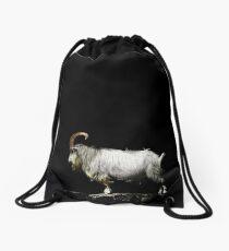A Goat for Caitlin Drawstring Bag