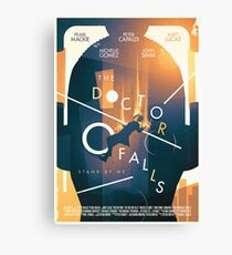 The Doctor Falls Canvas Print