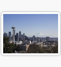 Seattle During The Day Sticker