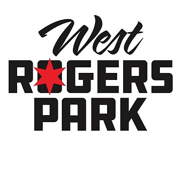 West Rogers Park Neighborhood Tee by velocitymedia