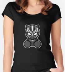 Panther Doll Women's Fitted Scoop T-Shirt