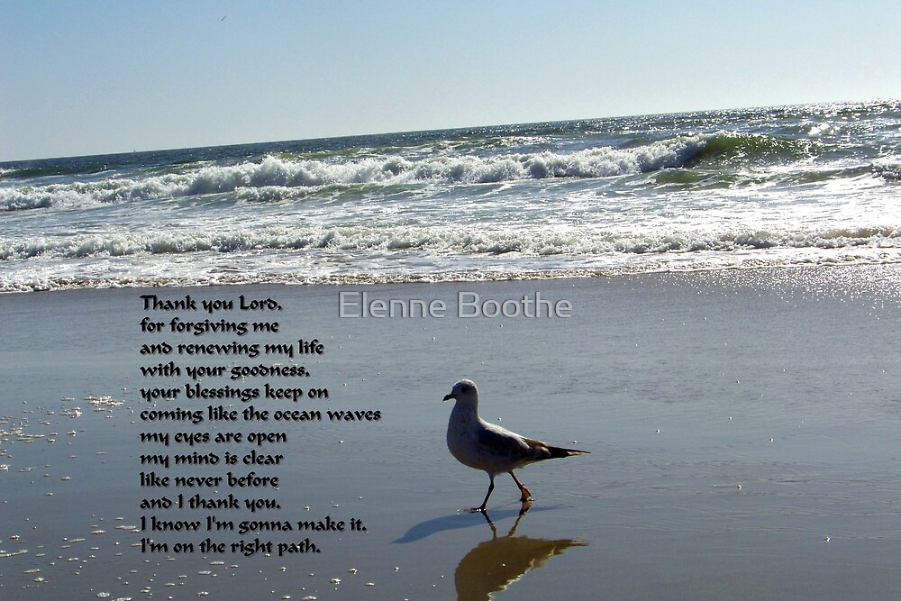 I'M ON THE RIGHT PATH by Elenne Boothe