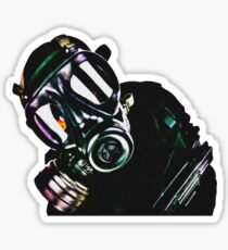 Military Man Sticker