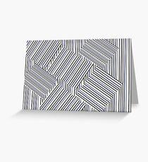Stripey Greeting Card