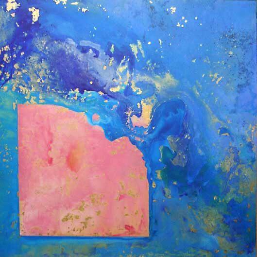 Azul, rosa y oro by M Jesus Hernandez Sanchez
