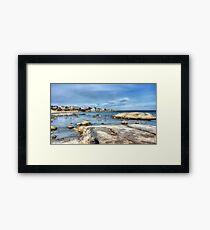 Seascape - Gloucester - Framed Print