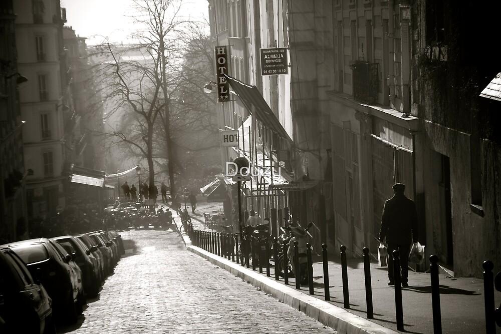 Montmartre Stroll by Douzy