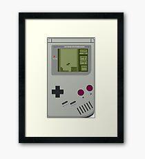 Game boy Pocket Tetris Framed Print