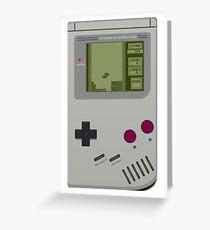 Game boy Pocket Tetris Greeting Card