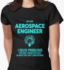 AEROSPACE ENGINEER BEST DESIGN 2017 Women's Fitted T-Shirt