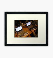 Sontage Equipment Framed Print