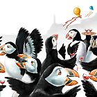 Puffin Party by EnPassant