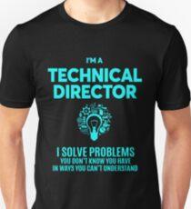 TECHNICAL DIRECTOR BEST DESIGN 2017 Unisex T-Shirt
