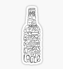 BEER BOTTLE Sticker