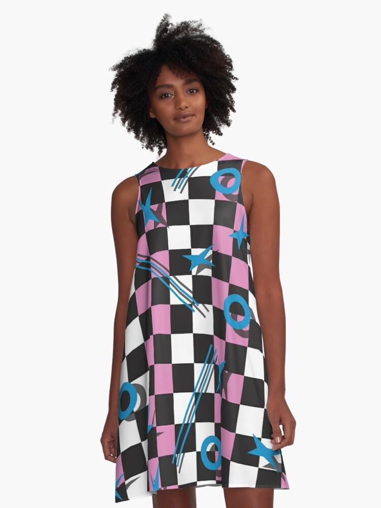 80s A-Line Dress A-Line Dress Front