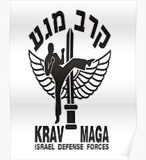 Krav Maga - Military Self Defence Combat Poster