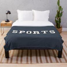 Sports Throw Blanket