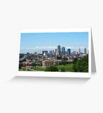 Downtown Kansas City  Greeting Card