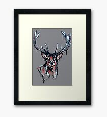 Selkirk Stag Framed Print