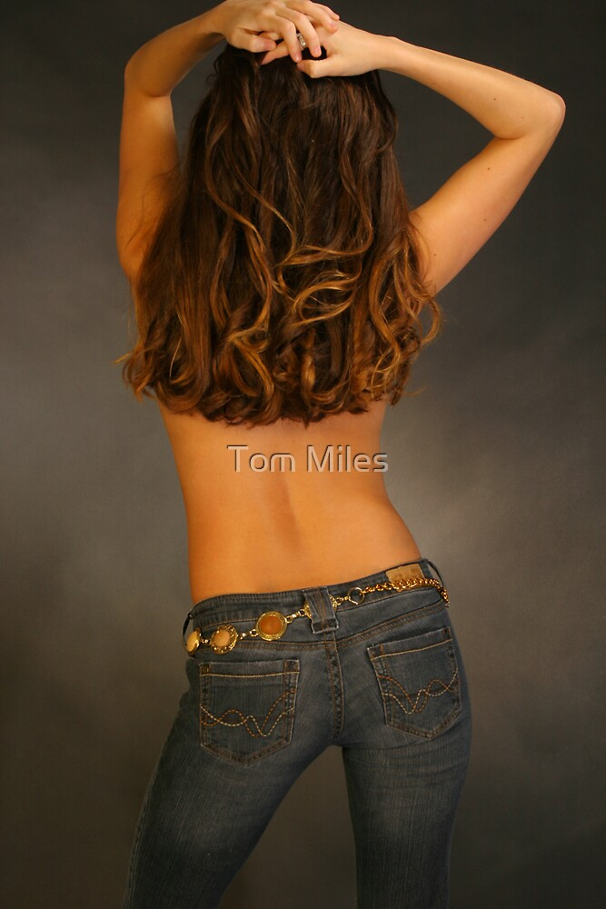 Beauty as seen from behind by Tom Miles