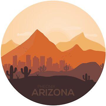 Phoenix Arizona by classydesignz