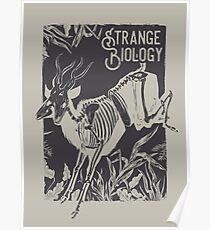 Strange Biology Antelope Skeleton Poster
