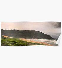 Solitary - - Palm Beach - Sydney Beaches - The HDR Series - Sydney,Australia Poster