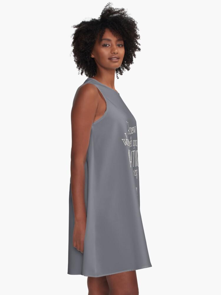 Alternative Ansicht von Abenteuer A-Linien Kleid