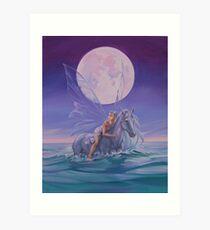'Sea of Tranquility' Art Print