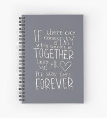 Cuaderno de espiral Juntos para siempre
