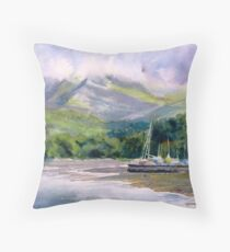 Hidden Peaks Throw Pillow