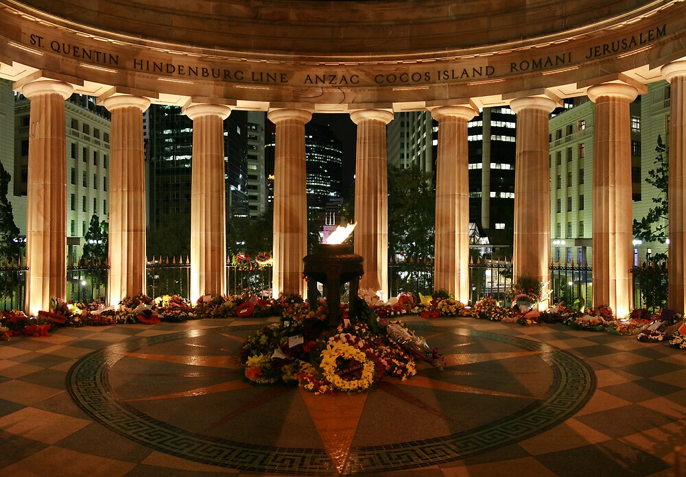 Shrine of Remembrance by Lance Jackson