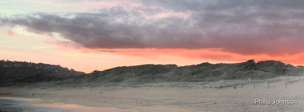 Dusk Over the Dunes - Avalon Beach - Sydney Beaches  The HDR Series - Sydney Australia by Philip Johnson