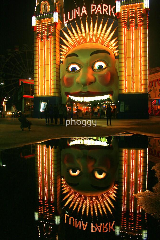 Luna Reflection by phoggy