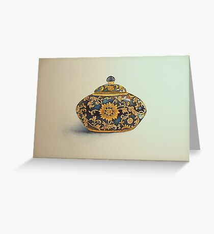 The Imperials 'Miniature' Oval Urn No 1 © Patricia Vannucci 2008  Greeting Card