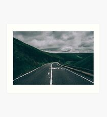 Me, You and the Open Road Art Print