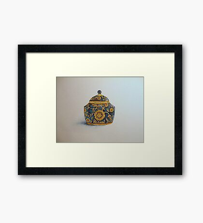 The Imperials 'Miniature' Hexagon Urn No 2 © Patricia Vannucci 2008  Framed Print