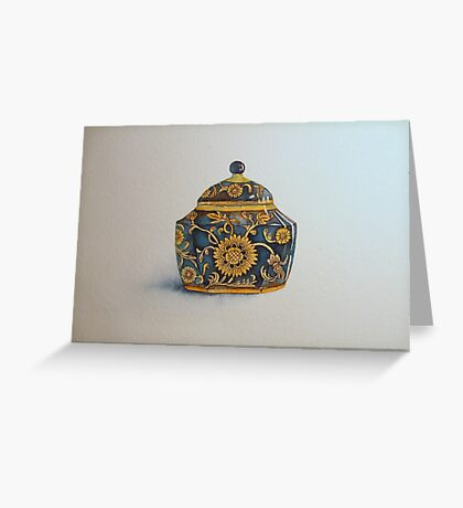 The Imperials 'Miniature' Hexagon Urn No 2 © Patricia Vannucci 2008  Greeting Card