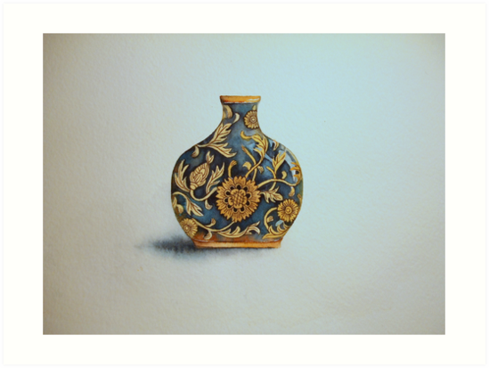 The Imperials 'Miniature' Flat Vase No 3 © Patricia Vannucci 2008  by PERUGINA