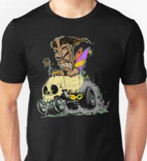 SKULL DRIVING TIKI  Unisex T-Shirt