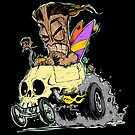 SKULL DRIVING TIKI  by George Webber