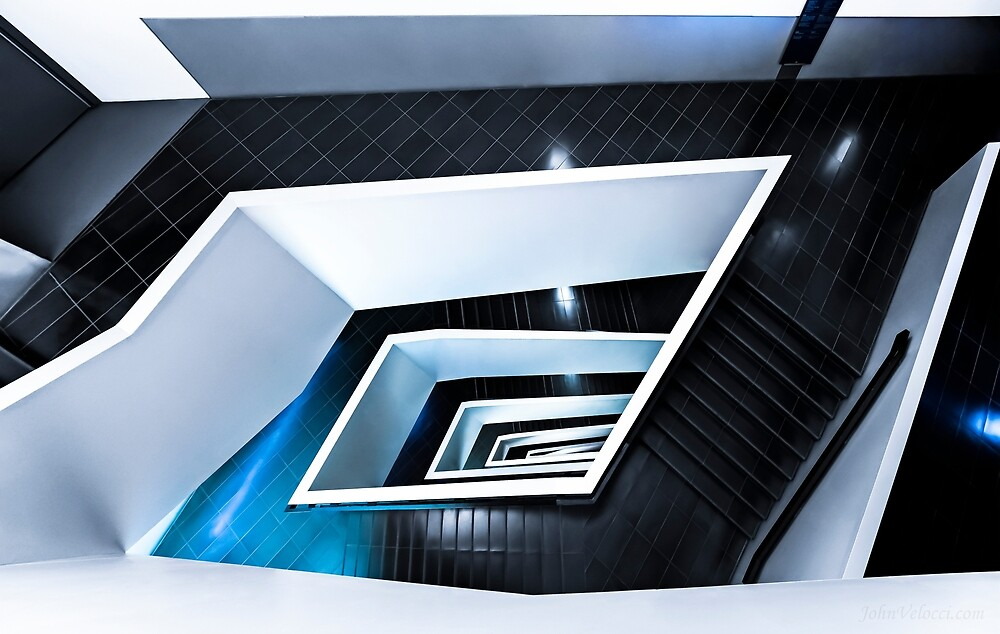 Stairs of Wonder 2 by John Velocci