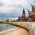 Sanctuary of Truth Temple Thailand by Joshua McDonough Photography