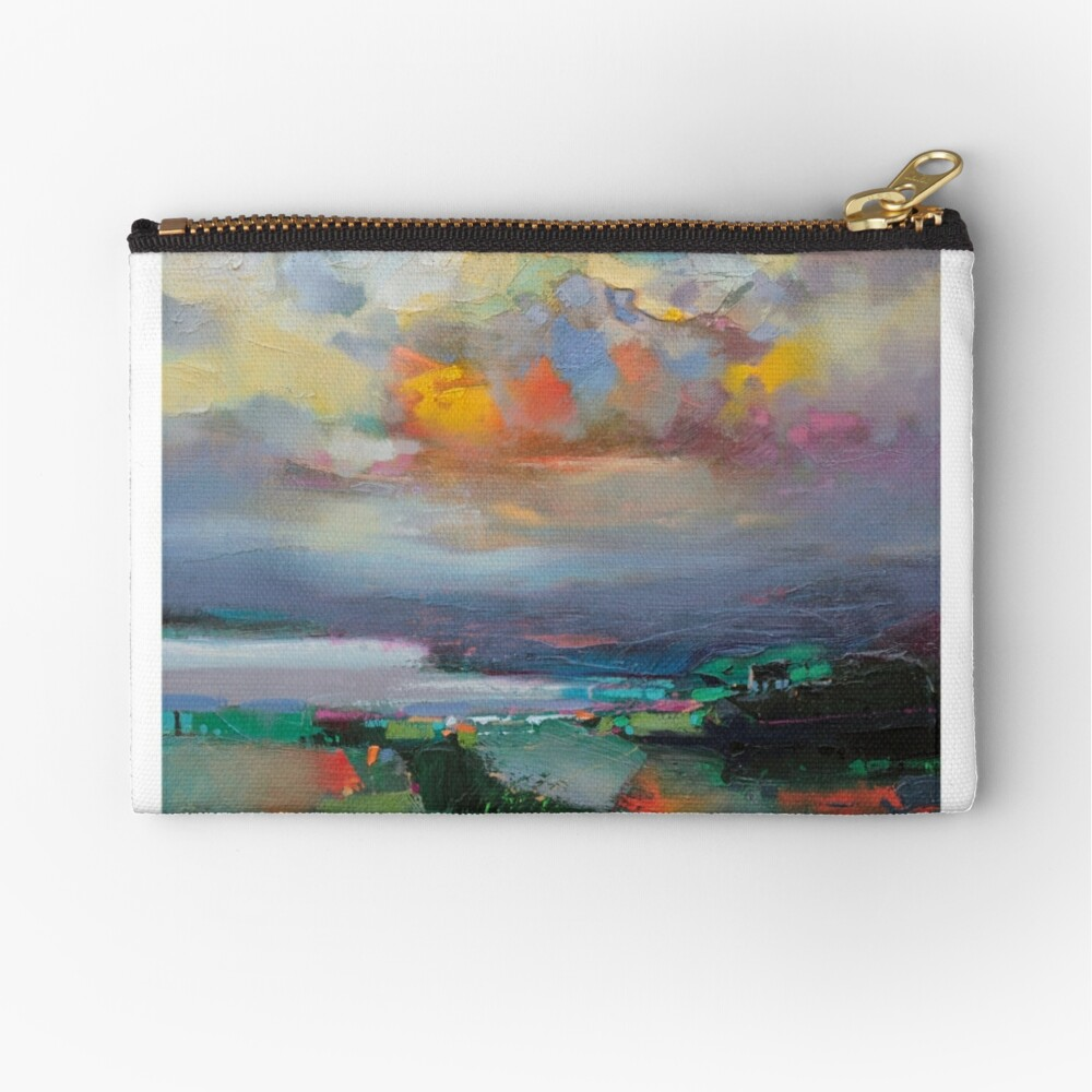 Above and Below Zipper Pouch
