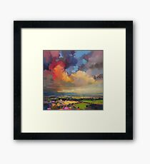 Fife Fields Framed Print