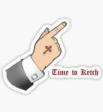 Ketch Sticker